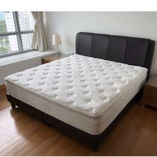Price drop!! King size luxury Bed & Frame