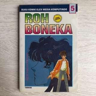Komik Serial Misteri - Roh Boneka No 5 - Okita Yumiko - Kolpri