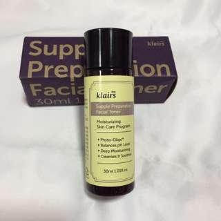 [Ready Stocks] - Klairs Supple Preparation Facial Toner 30ml