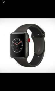 收 Apple Watch Series 3 GPS + Cellular 42mm