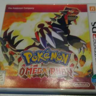 Pokemon Omega Ruby & Pokemon Y