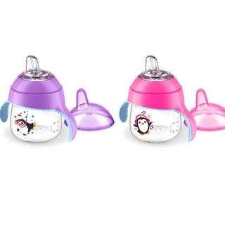 7oz Philips Avent Penguin Soft Spout Sippy Cup, 6m+ (1 pc, Loose Pack)