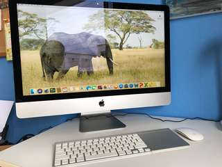 "iMac 27"" (late 2012) - excellent condition"