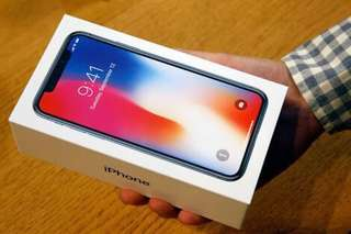 Iphone X 256gb bnew sealed Smart locked for trade to 2017 Macbook Pro