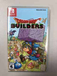 Switch Game 勇者斗惡龍 建造者 dragon quest