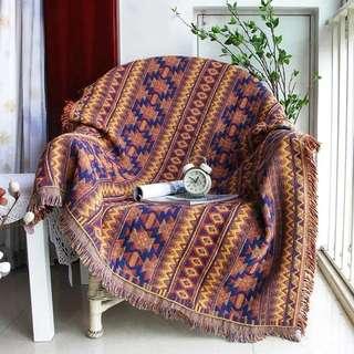 [OH_JUMP] 波西米亞風沙發毯地墊多功能