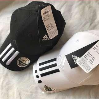 全新正版愛迪達adidas電繡三條線棒球帽 #adidas帽子