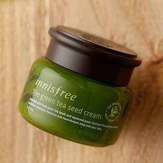 BN Innisfree Green Tea Seed Cream
