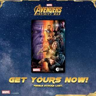 Marvel's The Avengers: Infinity War ez-link card