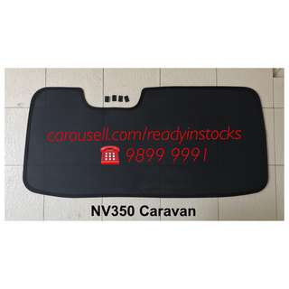 Nissan NV350 Van Rear Windscreen Magnetic Sun Shade / NV350 Accessories