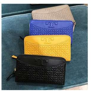 Authentic TORY BURCH Bryan Zip Continental Wallet 😍