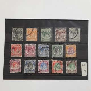 Singapore 1948 Stamps