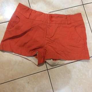Plain Red-Orange