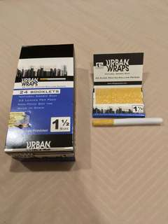 Urban Wraps 1 1/2 Rolling Papers