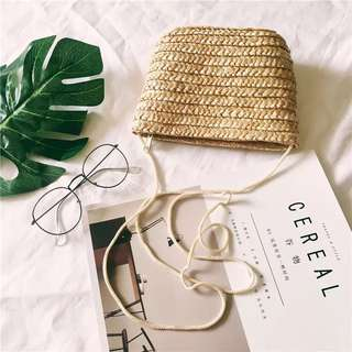 Rattan Knitted Bag