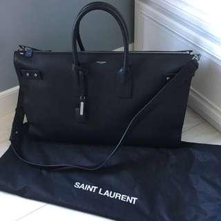 Saint Laurent Sac De Jour Souple 48H Cabin Luggage Duffle Keepall Carryon Bag
