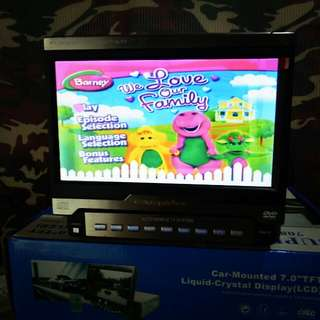 Indash lcd monitor dan tv