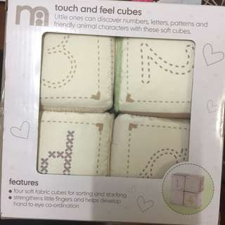 touch n feel cubes
