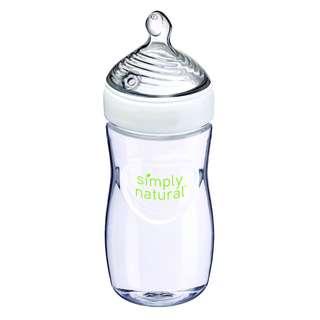 9oz NUK Simply Natural Bottle, Medium Flow (1 pc, Loose Pack)