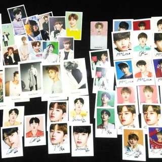 WANNA ONE VARIETY UNOFFICIAL CARDS