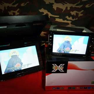 Dvd player double din n lcd monitor