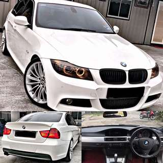 SAMBUNG BAYAR / CONTINUE LOAN  BMW E90 325 2.5 MSPORT LCI
