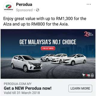 Perodua Alza Axia 2018