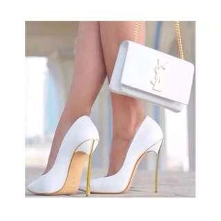 Candy w 質感高跟高跟鞋👆螢光系列下標區 👠不會跌倒的鞋