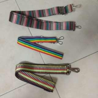 Adjustable rainbow seat belt strap for jujube