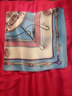 The prettiest Neckties or headscarves in 50 x 50 cms in 💯 % silk