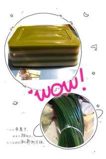 椰汁斑斕千層糕