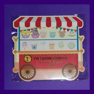 "Game Pin 美食車 隠藏米奇「嘉年華會美食車」徽章系列 Hidden Mickey Pin ""Carnival Food Truck""Series : Pin Trading Carnival"