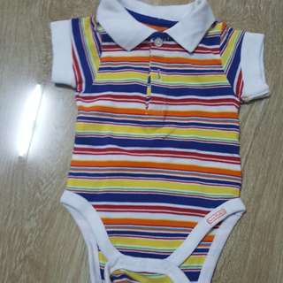 Collared Onesie for 0 to 3 months
