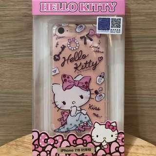 Sanrio 正版Hello Kitty 透明手機殼