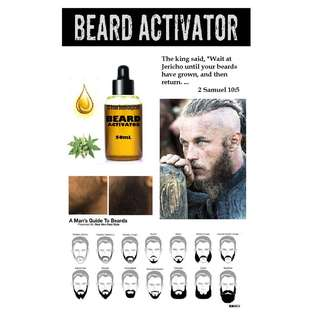 Beards Oil Grower Activator