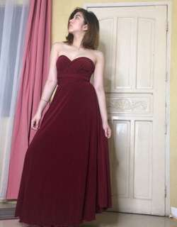 INFINITY DRESS in Red