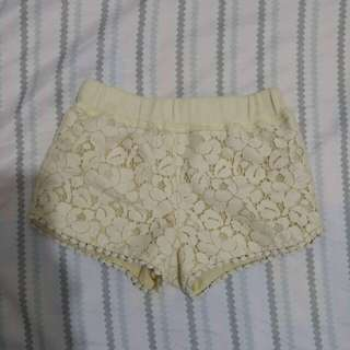 Gingersnaps laced shorts