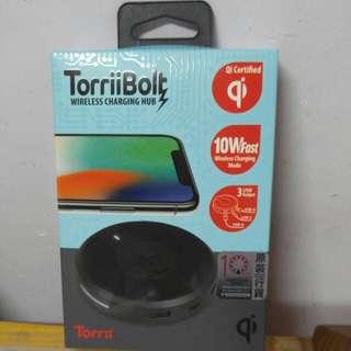 TorriiBolt wireless charging hub 無線充電器/叉電器