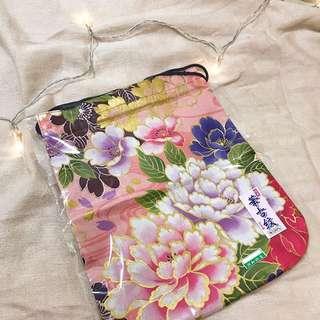 花紋束口袋🌸🌺🌼