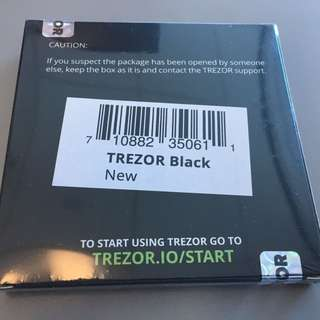 Trezor Hardware Wallet Brand NEW (ONLY SELL BULK)