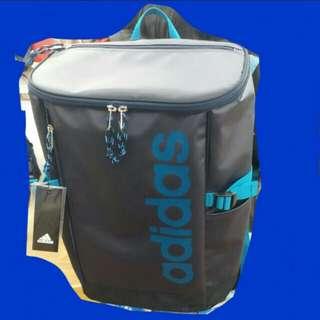 (實物藍好靚)全新正版Adidas original 防水  藍色 背囊 背包 限量特別版 購自日本