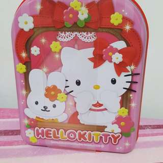 Hello Kitty Carrier Tin Box