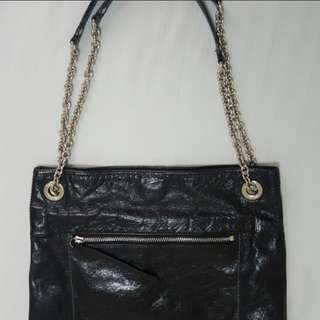 Must Go! Auth Coach chain crossbody sling bag