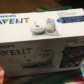 Philips Avent baby monitor with star projector