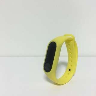 Free Mailing! Mi Band 2 Strap - Yellow