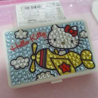 Hello Kitty Glam Plane Pill Box