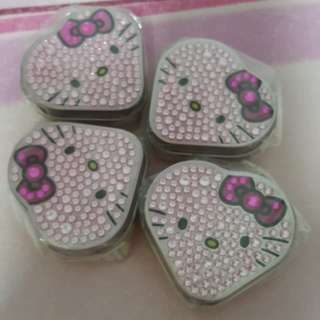 Hello Kitty Glam Heart Pill Tin Box