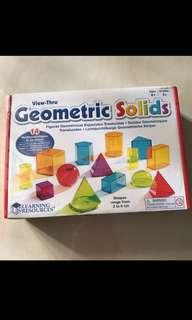 View Thru Geometric Solid