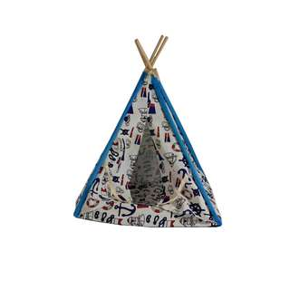 Cute Tent Pet Bed (Sailor Series) for Small Dogs/Cats