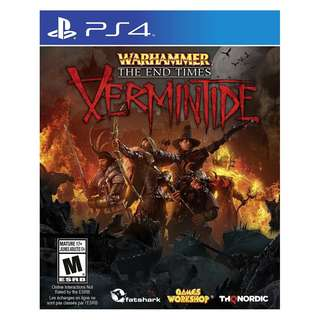 PS4 WARHAMMER END TIMES VERMINTIDE - PAL